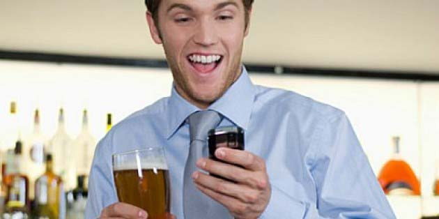 texting while drunk